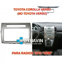 TOYOTA COROLLA VERSO (+2007) - MARCO ADAPTADOR 2DIN PARA RADIOS OEM