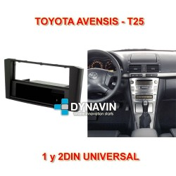 TOYOTA AVENSIS T25 - MARCO ADAPTADOR 2DIN UNIVERSAL