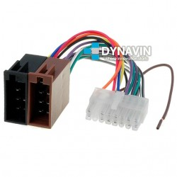 CONECTOR ISO CLARION - 16pin ( 33 x 8mm )