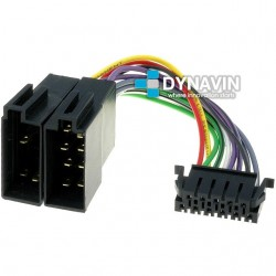 CONECTOR ISO JVC - 11pin ( 28 x 9mm )