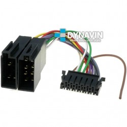 CONECTOR ISO JVC - 13pin ( 32 x 9mm )