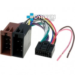CONECTOR ISO JVC - 16pin ( 22 x 10mm )