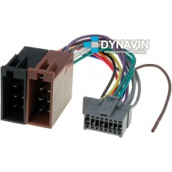 CONECTOR ISO PANASONIC - 16pin ( 22 x 11mm )