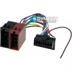 CONECTOR ISO PANASONIC - 16pin ( 29 x 11mm )