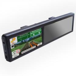 "RETROVISOR GPS PANTALLA TACTIL 5"" Y BLUETOOTH"