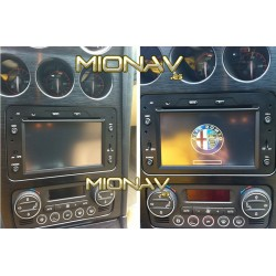 ALFA ROMEO 159, BRERA, SPIDER - 2DIN GPS HD USB SD DVD BLUETOOTH...