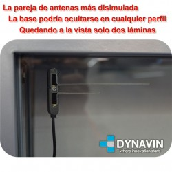 PAREJA DE ANTENAS TDT TV DIGITAL AMPLIFICADAS 12V PARA COCHE