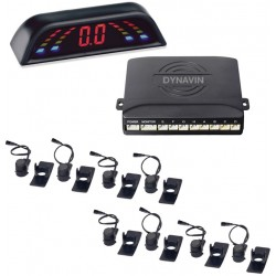 SENSORES DE PARKING - KIT DE 8 CAPSULAS PROFESIONAL CON DISPLAY LED