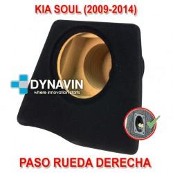 KIA SOUL (2009-2013) - CAJA ACUSTICA PARA SUBWOOFER ESPECÍFICA PARA HUECO EN EL MALETERO