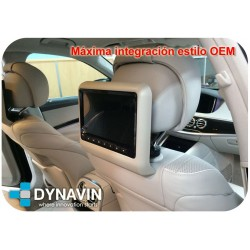 "PANTALLA 10,1"" HD, CD, DVD, USB, SD - LCD DIGITAL PARA CABECEROS CON SEGURIDAD ACTIVA"
