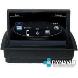AUDI A1 (8X +2011) - 2DIN GPS HD USB SD DVD BLUETOOTH