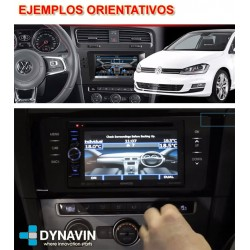 """LAND ROVER EVOQUE 5"""" (+2011) - INTERFACE MANDOS DEL VOLANTE, E INFORMACION ORIGEN EN PANTALLA"""