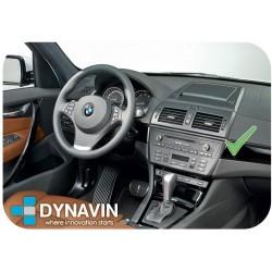 BMW X3 E83 - MARCO ADAPTADOR 1DIN