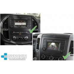 MERCEDES SPRINTER, VOLKSWAGEN CRAFTER CON AUDIO 15 (+2015) - INTERFACE PARA CAMARA TRASERA