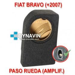 FIAT BRAVO (+2007) - CAJA ACUSTICA PARA SUBWOOFER ESPECÍFICA PARA HUECO EN EL MALETERO