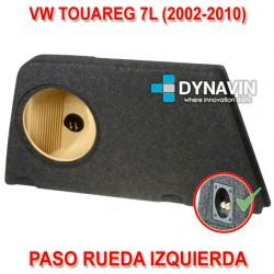VW TOUAREG 7L (2002-2010) - CAJA ACUSTICA PARA SUBWOOFER ESPECÍFICA PARA HUECO EN EL MALETERO