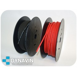 1m CABLE FLEXIBLE 10mm² EN ROLLO AL CORTE PARA INSTALACIONES DE CAR AUDIO
