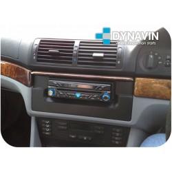 BMW E39, X5 E53 - MARCO ADAPTADOR 1DIN