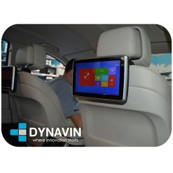 "PANTALLA MULTIMEDIA 10,1"" CD, DVD, USB, SD - TACTIL + HD DIGITAL PARA CABECEROS CON SEGURIDAD ACTIVA"