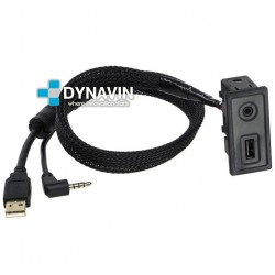 CONECTOR USB Y AUXILIAR - INTERFACE PARA VOLKSWAGEN GOLF 7