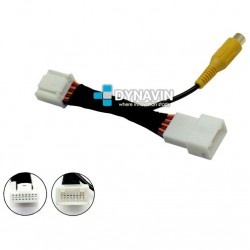 TOYOTA TOUCH, TOUCH AND GO, PLUS (+2010) - INTERFACE, CONECTOR PARA CAMARA TRASERA