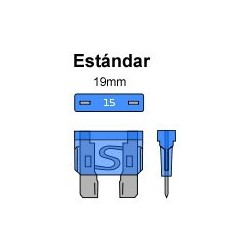 PORTA FUSIBLE ESTANCO 19mm.