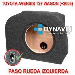 TOYOTA AVENSIS T27 WAGON (+2009) - CAJA ACUSTICA PARA SUBWOOFER ESPECÍFICA PARA HUECO EN EL MALETERO