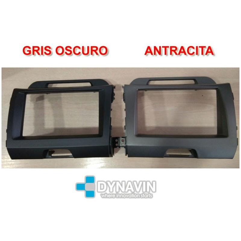 Marco de montaje radio Alfa 147 GT  GRIS OSCURO ANTRACITA 2008-2013