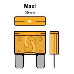 PORTA FUSIBLE ESTANCO MAXI 29mm.