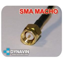 ANTENA GPS DE 28dB MAGNETICA CON CONECTOR SMA