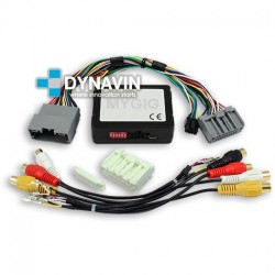 MYGIG CHRYSLER, DODGE, JEEP, LANCIA - INTERFACE CAMARA TRASERA + AV IN + VM