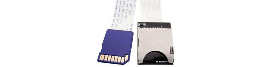 Alargador de tarjetas de memoria sd, kingston, sony, philips, megatrend, alargador y prolongador