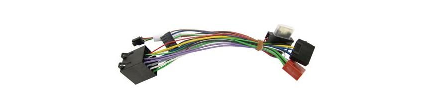 Conectores ISO y Parrot