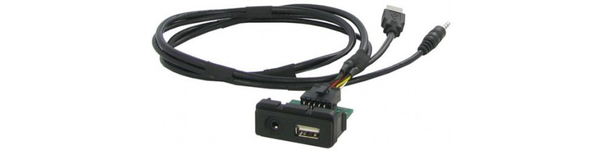 AUX, USB