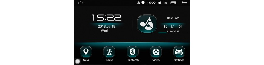 Radios Android DH2
