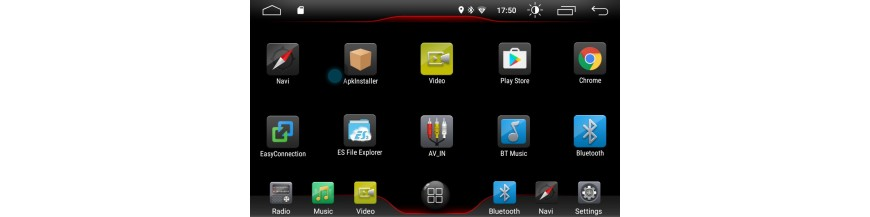Radios Android K7-26