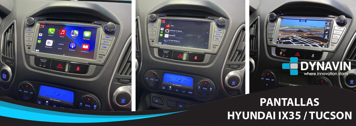 Pantallas Hyundai ix35 / Tucson