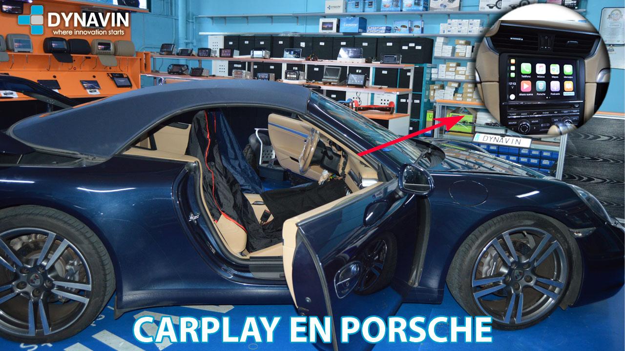 CarPlay en Porsche