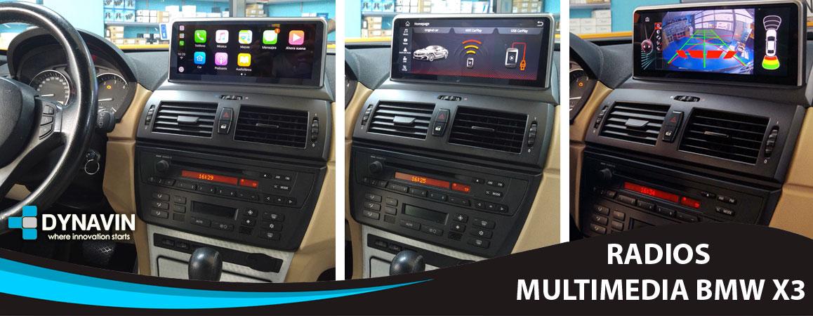 Radios para BMW X3 E83
