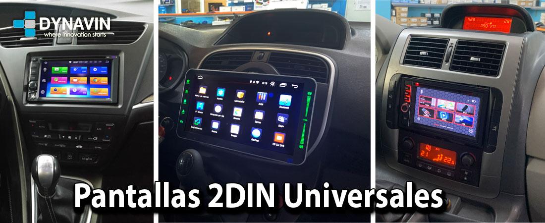 Pantallas 2DIN Universales