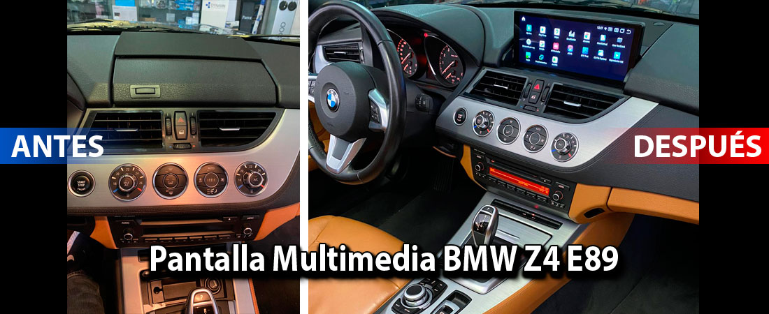 Pantalla Multimedia en BMW Z4 E89