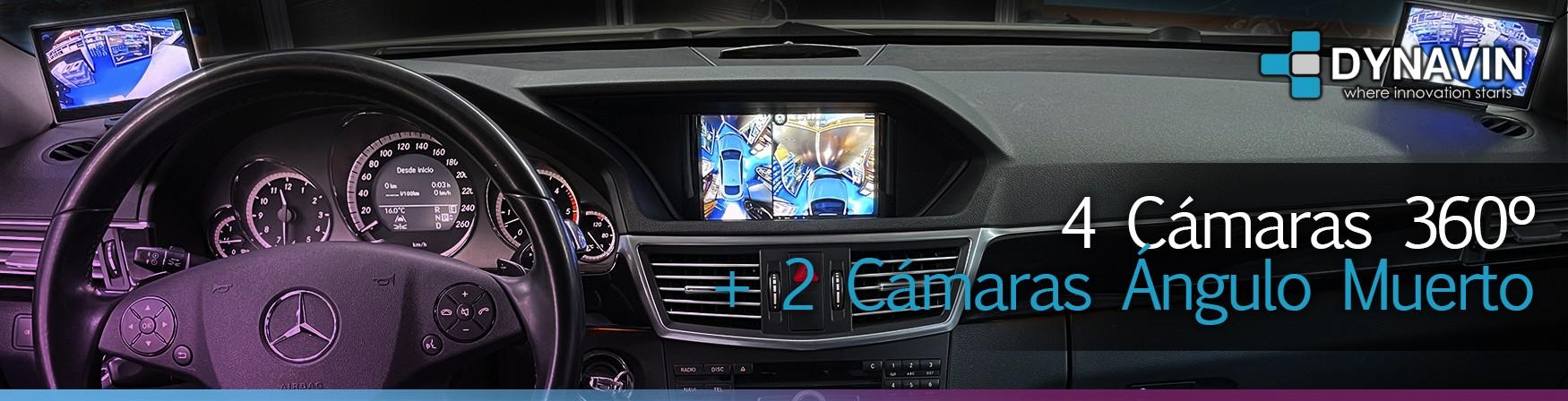 Dynavin sistema de aparcamiento 360 añadiendo 2 cámaras extra para ángulo muerto